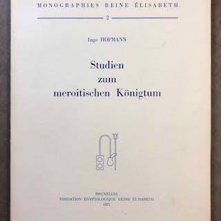 Studien zum meroitischen Königtum HOFMANN Inge