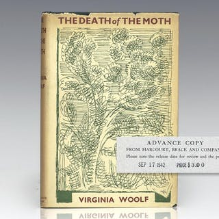 The Death of the Moth and Other Essays. Woolf, Virginia First Edition