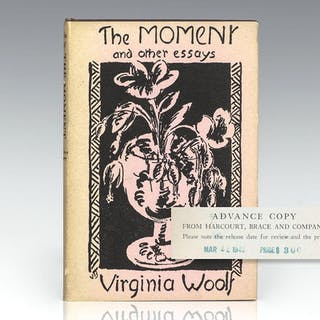 The Moment and Other Essays. Woolf, Virginia First Edition