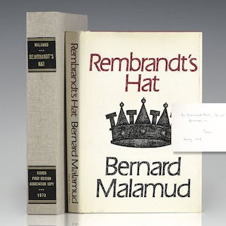 Rembrandt's Hat. Malamud, Bernard First Edition