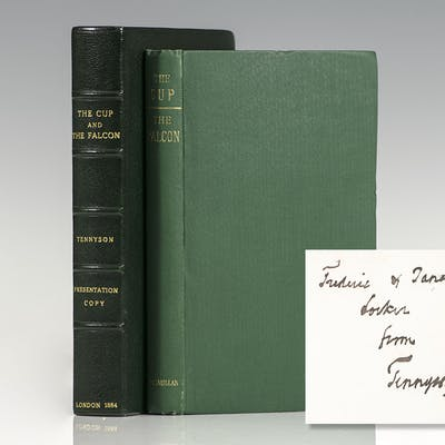 The Cup and The Falcon. Tennyson, Lord Alfred First Edition