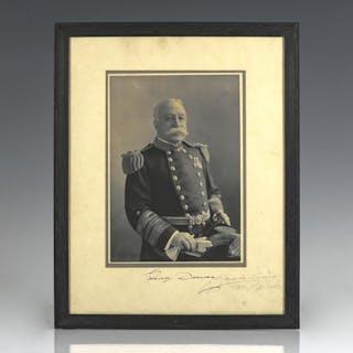 Admiral George Dewey Signed Photograph. Dewey, George Americana