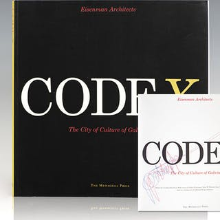Codex: The City of Culture of Galicia. Eisenman, Peter Art and Architecture