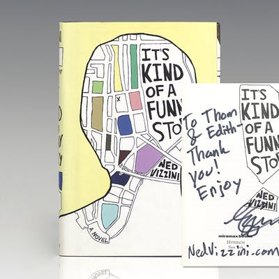 It's Kind of a Funny Story. Vizzini, Ned First Edition