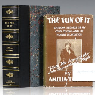 The Fun of It. Earhart, Amelia Biography and Autobiography