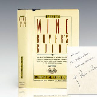 Parker's Wine Buyer's Guide. Parker, Robert M First Edition