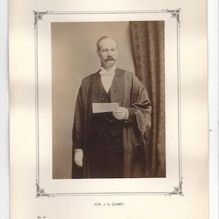 Original Photograph, Hon. J.A. Ouimet. No. 13. NOTMAN]