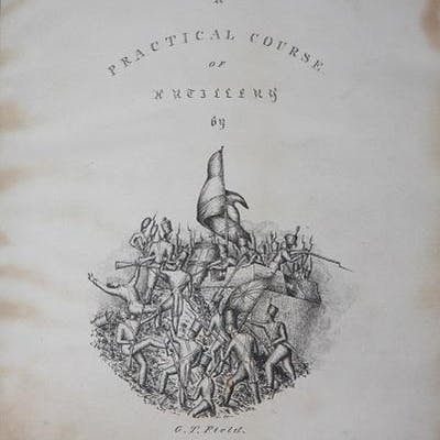 A Practical Course of Artillery Field, G. T. Albums and Sketchbooks,Military