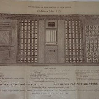 The Sadler Cabinet No. 300   Trades and Trade Catalogs