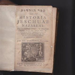 Historia Jeschuae Nazareni