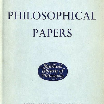 Philosophical Papers G.E. Moore Philosophy
