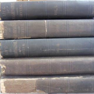 Life of George Washington 5 volume set Washington Irving American History