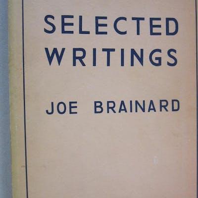 Selected Writings 1962-1971 Joe Brainard Poetry
