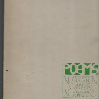 Poems Anthony Naumann, Guy Cooper, Julian Nangle