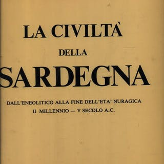 La civilta' della Sardegna Zervos, Christian Literature & Fiction
