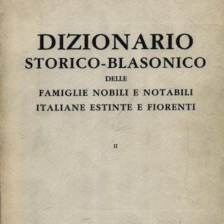 Dizionario storico blasinico delle famiglie nobili 2vv Di Crollalanza