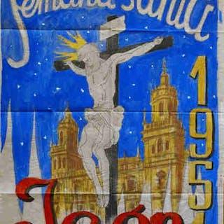 SEMANA SANTA. Jaén 1951 SALIDO, Rafael