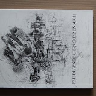 ein skizzenbuch zeichnungen und konzepte mit zweidreifarbigen lithografien
