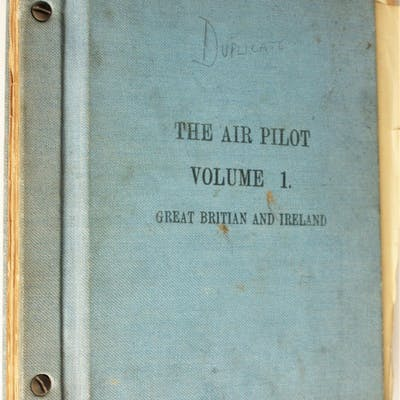 The Air Pilot Volume 1 Great Britain and Ireland various Aircraft and Transport