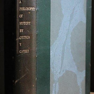 Toward a Philosophy of History Ortega y Gasset, Jose
