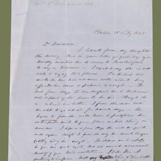 Autograph Letter Signed Briggs, George Nixon