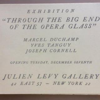 Jospeh Cornell Marcel Duchamp Yves Tanguy Joseph Cornell...