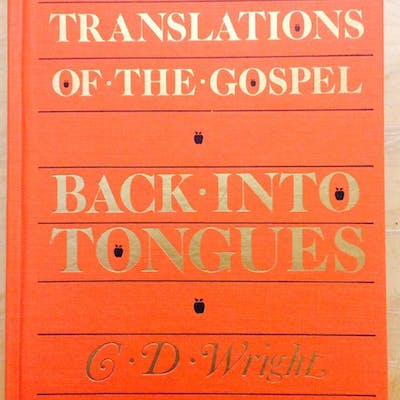 Translations of the Gospel Back Into Tongues Wright C. D.