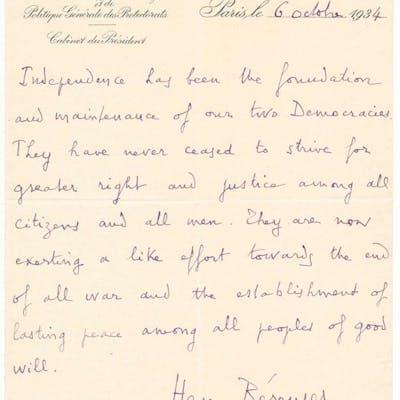 Autograph Letter Signed BERENGER