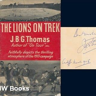 The Lions on trek Thomas, J. B. G. (John Brinley George)