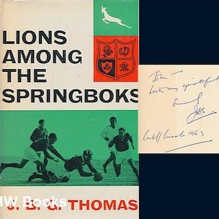 Lions among the springboks Thomas, J. B. G. (John Brinley George)