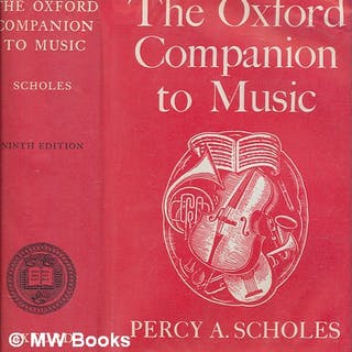 The Oxford companion to music / by Percy A