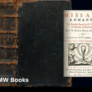 Missale Romanum : ex decreto Sacrosancti Concilij Tridentini restitutum
