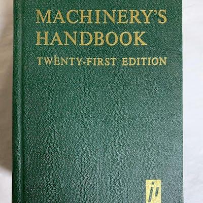 By Erik Oberg Machinery's Handbook (21st.) [Paperback]