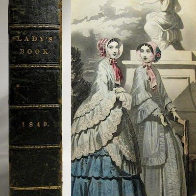 1849 Godey's Lady's Book (Volumes 38 & 39) MELLONTA TAUTA Edgar Allan Poe