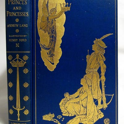 The Book of Princes and Princesses Andrew Lang, Mrs. Lang