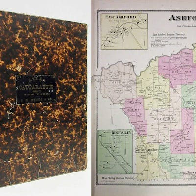 ATLAS OF CATTARAUGUS COUNTY