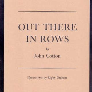 Out There in Rows *First Edition* COTTON
