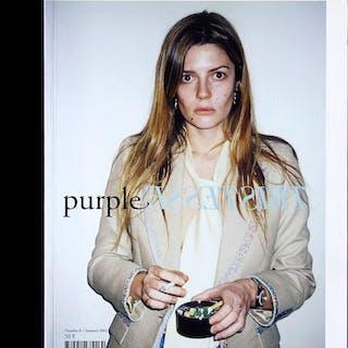 Purple Fashion 8 (special tristesse) Terry Richardson, Mark Borthwick et al.