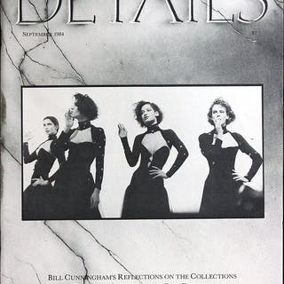 Details September 1984 (collections special) Annie Flanders, Bill Cunningham