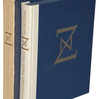 THUS SPAKE ZARATHUSTRA Nietzsche, Friedrich Fine Press Books