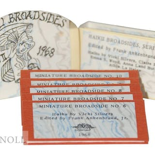 HAIKU BROADSIDES Ankenbrand, Frank Jr. (editor) Fine Press Books,Miniature Books