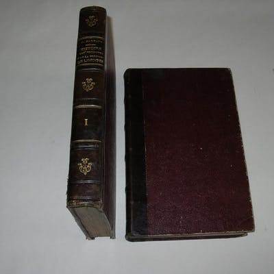 HISTOIRE DES VICOMTES ET DE LA VICOMTE DE LIMOGES. Complet en 2 tomes MARVAUD F.