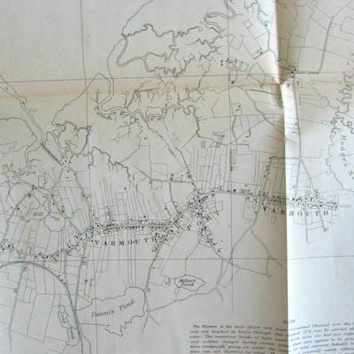 Barnstable Harbor Cape Cod Yarmouth 1862 Nautical Chart Us Coast