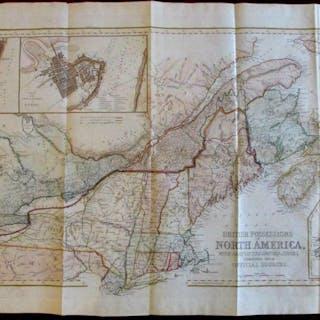 British Possessions North America Canada 1846 large bond...