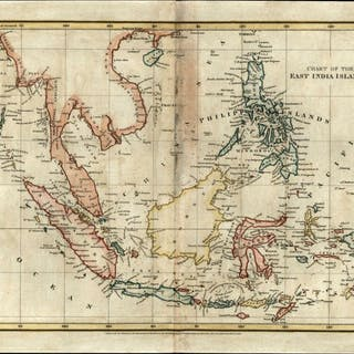 Southeast Asia East India Islands Philippines Borneo 1808...