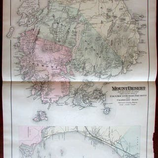 Mount Desert Boothbay Harbor Casco Bay Peaks Isl