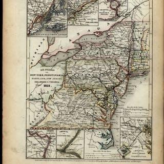 Mid-Atlantic Vermont NY PA MD VA DE NJ United States 1860...