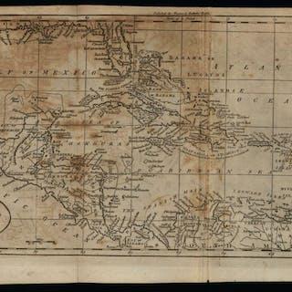 West Indies Caribbean 1796 Doolittle scarce American...
