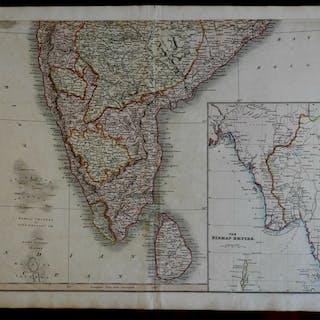 Southern India Hyperdbad Ceylon Birman Empire c.1815...