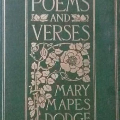 Poems and Verses Dodge, Mary Mapes Custer,Everything Else